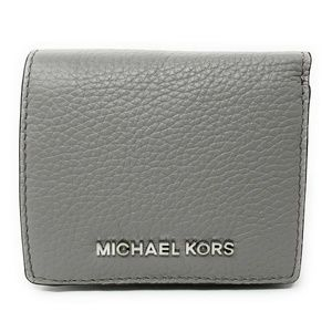 Michael Kors Jet Set Travel Leather Wallet Grey